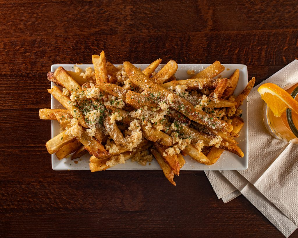 Garlic Parm Truffle Fries